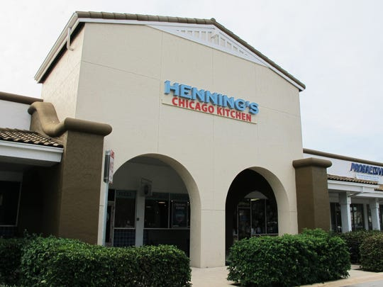 Henning's Chicago Kitchen reopened Monday at a new location, 2360 Pine Ridge Road, iin Pine Ridge Crossing shopping center n Naples.