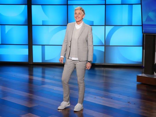 Daytime talk-show host Ellen DeGeneres is now a big-shot