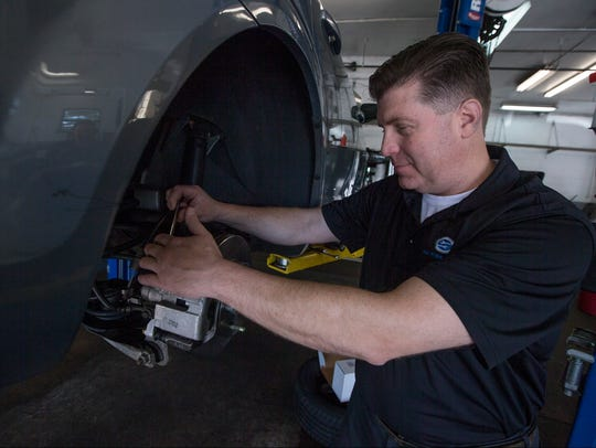 Ken Hartmann opened K&M Tire & Auto in Toms River in