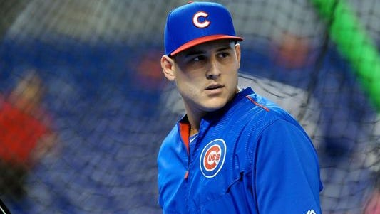 Cubs first baseman Anthony Rizzo likes Chicago's chances of making the postseason in 2015.
