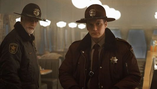 """Ted Danson (left) and Patrick Wilson appear in the second season of """"Fargo,"""" which is set in both Sioux Falls and Luverne, Minn."""