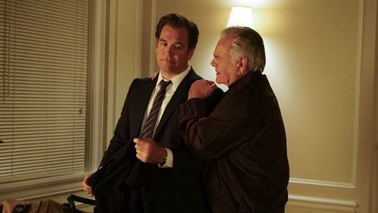 Robert Wagner's Anthony DiNozzo Sr. was a rock for his son.
