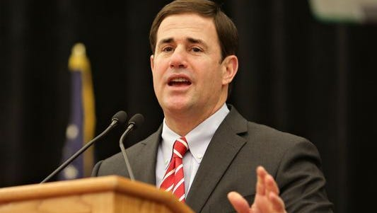 Gov. Doug Ducey plans to keep nearly $14,000 in donations from those charged in thefederal indictment alleging bribery intended toinfluencethe Arizona Corporation Commission.