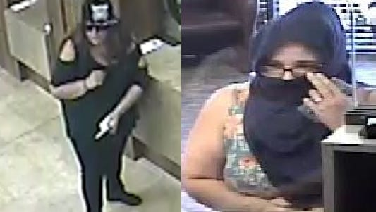 """The FBI is reaching out to the public for help in finding a bank robber whom officials have nicknamed the """"Grimace Bandit."""""""