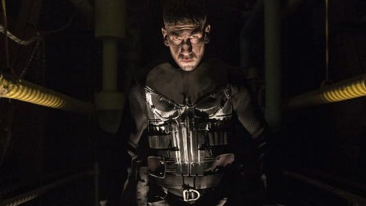 """Jon Bernthal as Frank Castle/The Punisher on """"The Punisher."""""""