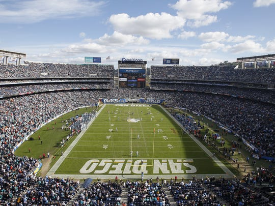 San Diego's aging Qualcomm Stadium is no longer viewed