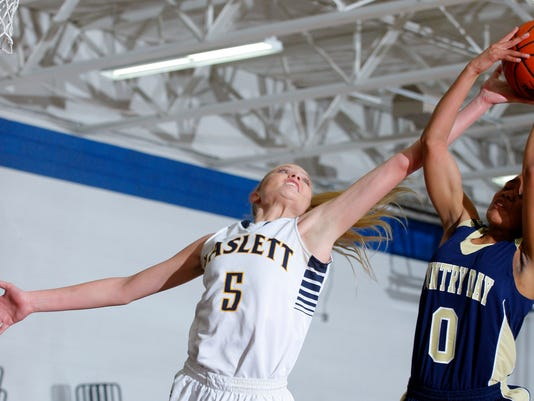Detroit Country Day at Haslett Girls Basketball