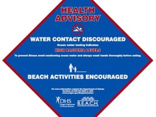 SAL0808-Beach advisory