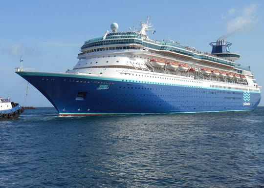 Celebrity Travel: No. 5: Sovereign Class. The Monarch of the Seas was once transferred to Royal Caribbean's Pullmantur Cruises division in 2013 and currently sails for the Spanish-speaking market as the blue-hulled Monarch.