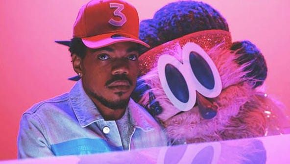 """Chance the Rapper from the video for """"Same Drugs"""""""