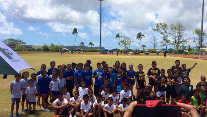 Dozens of kids are expected to participate at the Guam Track and Field Association's annual IAAF Kids' Athletics Day May 13, 2017 at the Okkodo High School Track.
