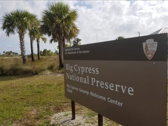 Big Cypress Welcome Center on U.S. 41 East is closed
