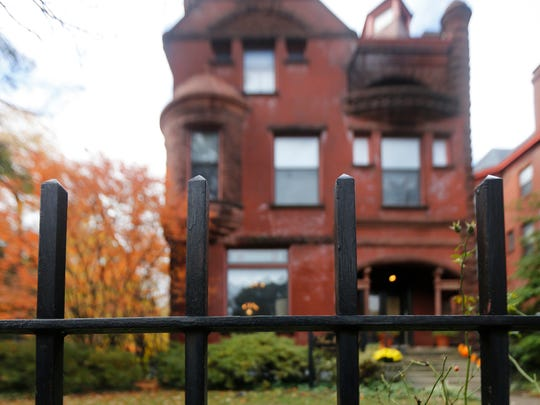 Does the ghost of a former nanny known as Annie Whipple haunt the former residence of Russell Houston? Today it is a bed and breakfast at the corner of Fourth and Park, in Old Louisville. Oct. 28, 2015..