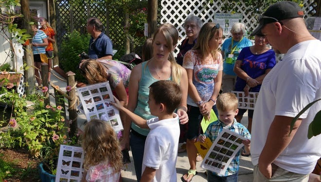 Hundreds of people came out to the Panhandle Butterfly House for a previous Monarch Madness Butterfly Festival.