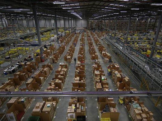 Amazon To Hire 500 For Burlco Warehouse