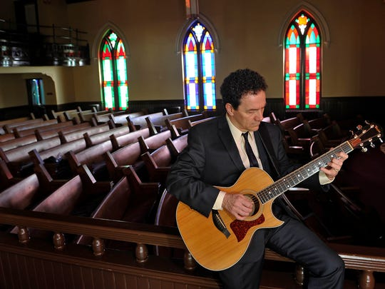 """Grammy Award-nominated singer-songwriter Tim Menzies will perform in celebration of the release of his new album, """"His Name is Jesus,"""" at 7 p.m. Sunday, Feb. 24 at Franklin Theatre."""
