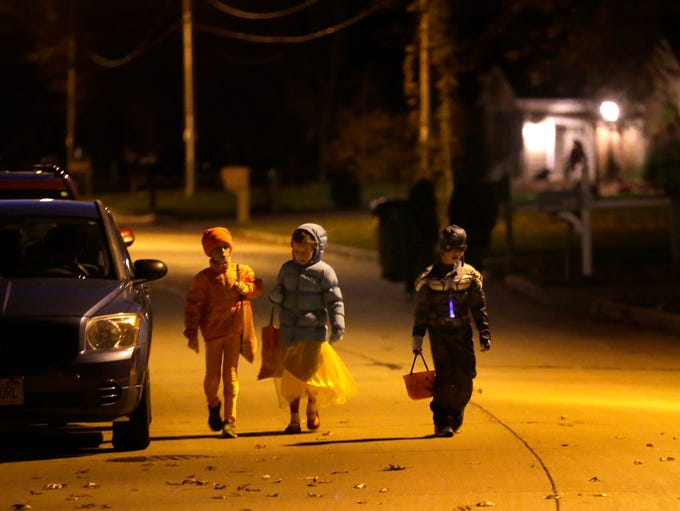 Trick or Treating on October 31, 2014 in Appleton,