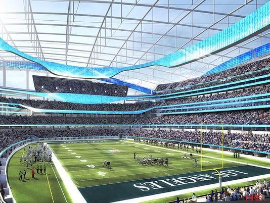 AP RELOCATION MEETINGS FOOTBALL S FBN USA CA
