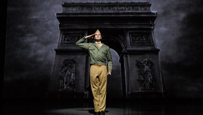 McGee Maddox plays ex-G.I. painter Jerry Mulligan in an adaptation of An American in Paris at The Orpheum Theatre in Memphis.