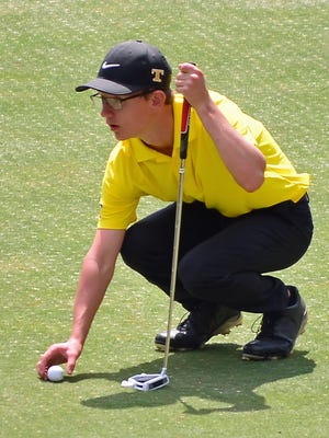 Tuscola's Danny Planchock finished second in his division at the WNCJGA Maggie Valley Open