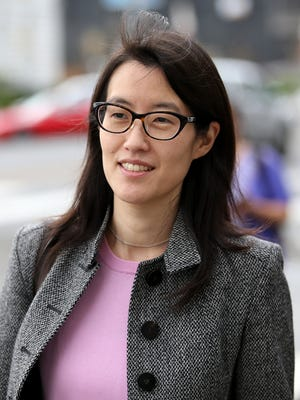SAN FRANCISCO, CA - MARCH 11:  Ellen Pao leaves the Superior Court Civic Center Courthouse during a lunch break from her trial on March 11, 2015 in San Francisco, California. Pao, the former CEO of Reddit, sued her former employer, Silicon Valley venture capital firm Kleiner Perkins Caulfield and Byers, for $16 million alleging she was sexually discriminated against by male officials. She lost her suit.