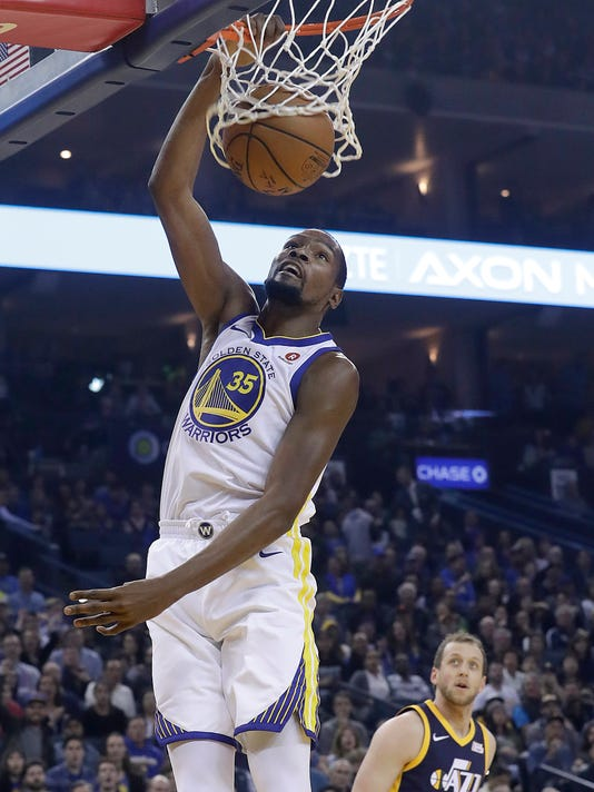 da32a05c4708 Kevin Durant is making a huge contribution to the Texas basketball program.  (Photo  The Associated Press)