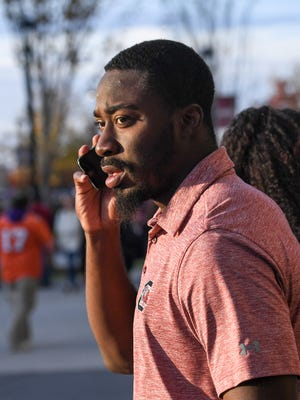Former South Carolina standout Marcus Lattimore, shown in a file image, is returning to his alma mater.