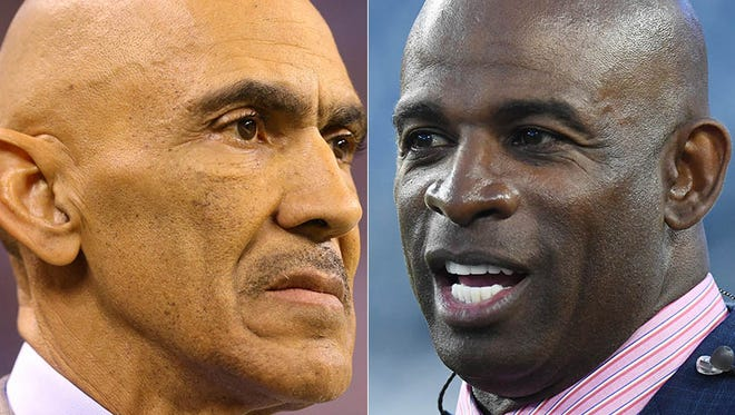 Tony Dungy disputes Deion Sanders' accusation that the Colts stole signals.