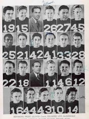 Three lettermen pictured in Palm Springs High School's 1942 yearbook died during World War II. Stephen Levi (27), Leonard Bryant (33) and Herbert Lienau (12).