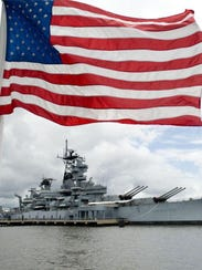 Spend the night on the Battleship New Jersey on the Camden Waterfront.