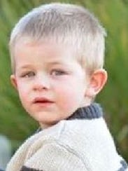 Noah Chamberlin, 2, went missing Thursday afternoon