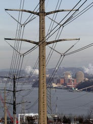 The Indian Point nuclear power plant in Buchanan is