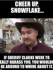 Milwaukee County Sheriff David A. Clarke Jr. posted