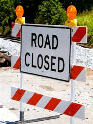 Rysing Drive between River Road and North Pennewell Drive in Wilmington will be closed Monday and Tuesday.