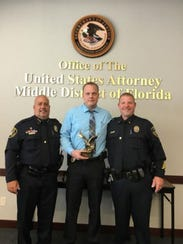 Cocoa Police Detective was awarded the U.S. Attorney's