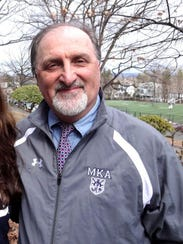 MKA track coach Tom Fleming shown in this 2013 file