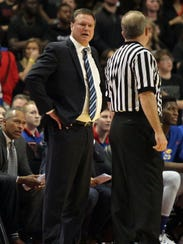 Kansas coach Bill Self has guided the Jayhawks to 15