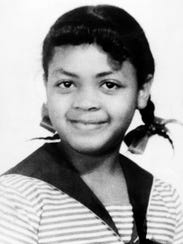 Linda Brown Smith, 9, is shown in this 1952 photo.