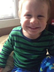 Mason DeCosmo was 2 when he died at home in Milton