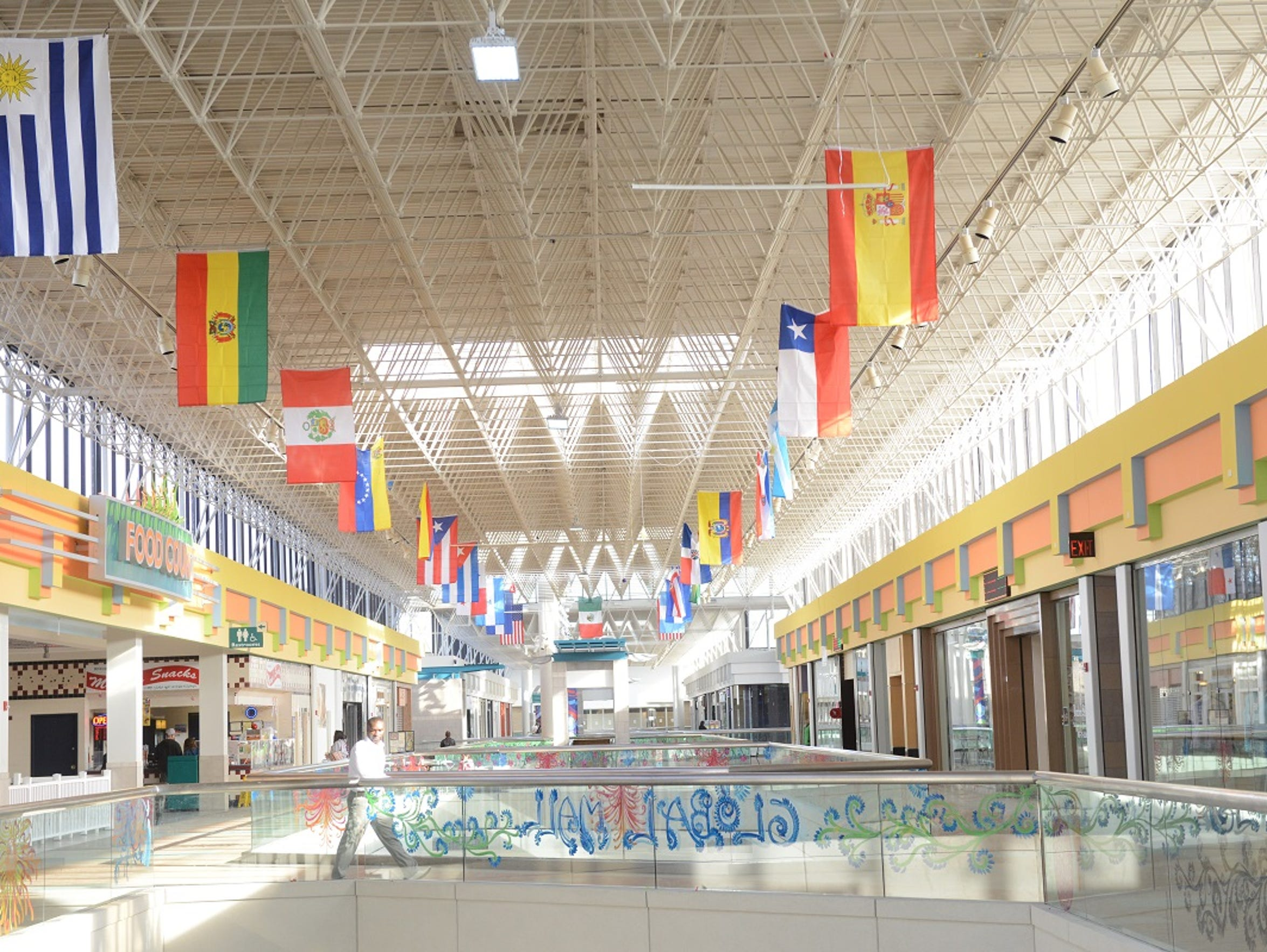 The Global Mall at the Crossings on Feb. 1, 2014, in