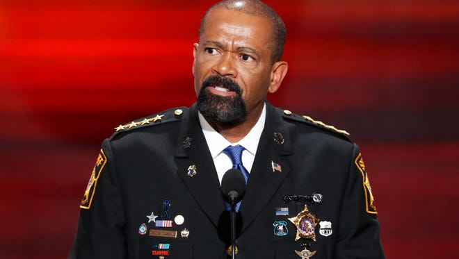 MIlwaukee County Sheriff David A. Clarke Jr. signed a book deal with a Christian publisher.