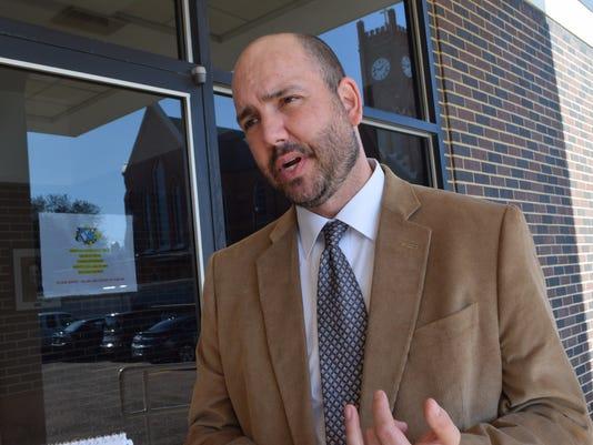 Arthur Joffrion, Rapides Parish executive assistant superintendent, discusses Rapides Parish School scores.