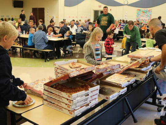 """Bataan Memorial Primary hosted their first annual """"Dads"""