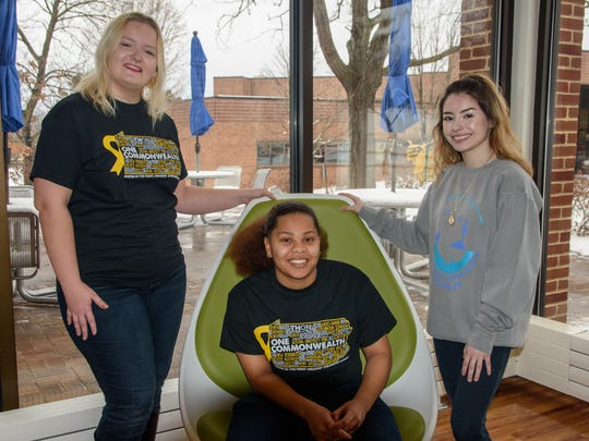 Penn State York THON dancers Casey Dierdorff, Thalia Splawn and Paulina Martinez have altered their diets and increased their exercise in preparation for the 46-hour dance event.