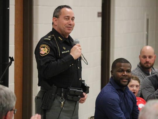 Ottawa County Sheriff Steve Levorchick deputized former