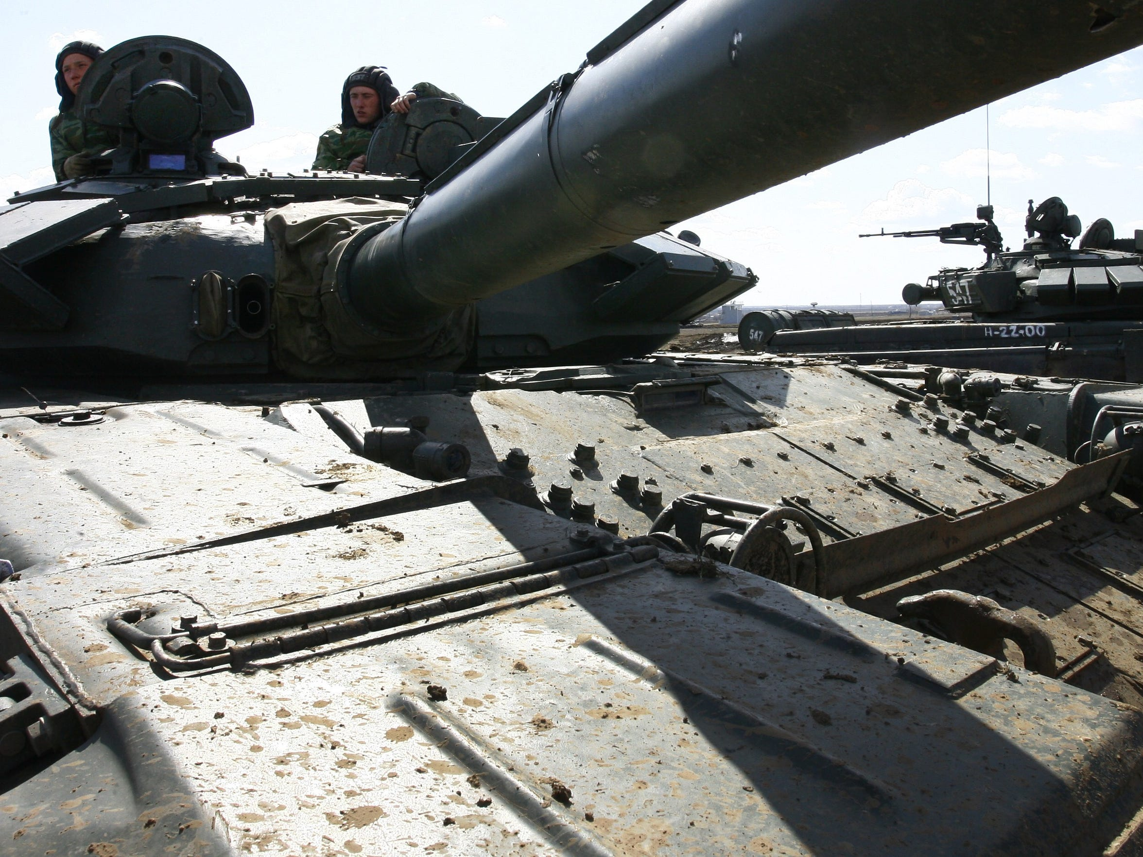 Russia claims to have some 750 tanks in its western