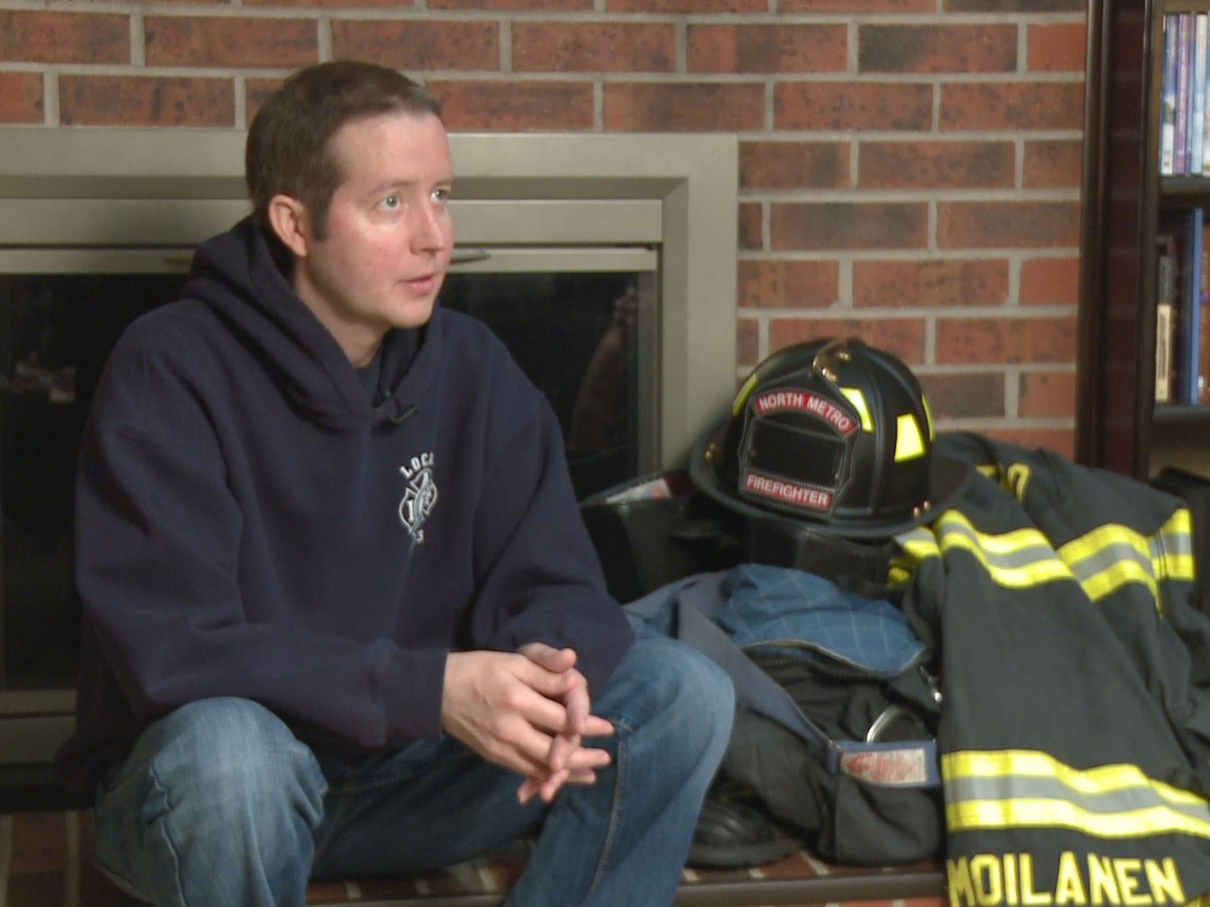 North Metro Firefighter Craig Moilanen