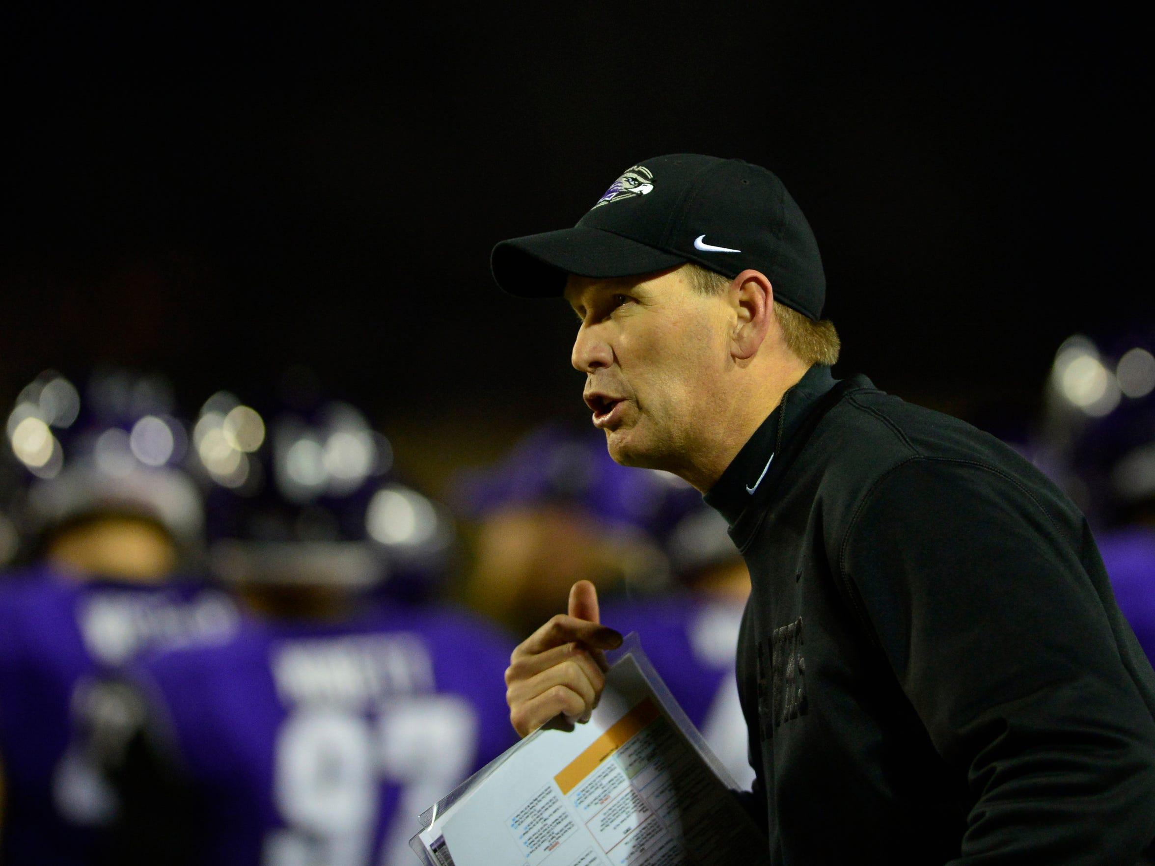 Dec 20, 2013; Salem, VA, USA; UW-Whitewater head coach