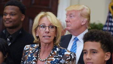 Petition supported by teachers' unions asks college to disinvite DeVos
