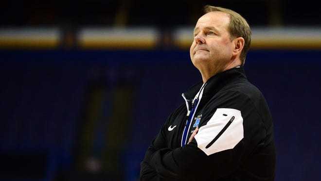 Blue Raiders head coach Kermit Davis ranked toward the bottom in terms of pay when it came to coaches at the NCAA Tournament.